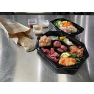 Vlees&vis gourmet/Bakplaat schotel